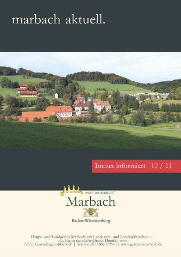 Marbach aktuell 1111