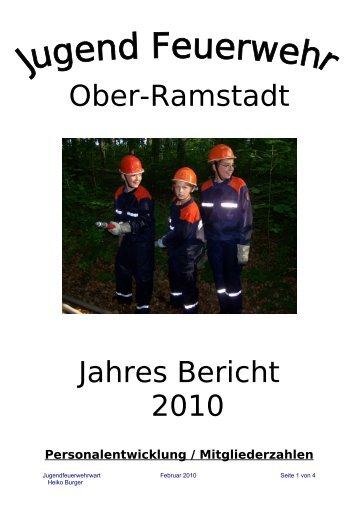 Ober-Ramstadt Jahres Bericht 2010