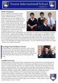 Christmas Fair From the Headteachers Visit to Swans Secondary - Page 7