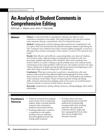 an analysis of student review Literary analysis vs plot summary vs plot interpretation many times students are expected to write a literary analysis of a theme(s), qualities of a main.