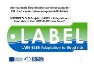 Internationale Koordination zur Umsetzung der EU - LABEL