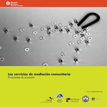 Los servicios de mediación comunitaria