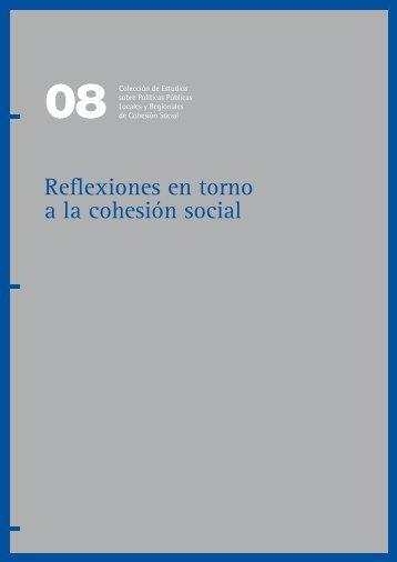 Reflexiones en torno a la cohesión social - Portal URB-AL III