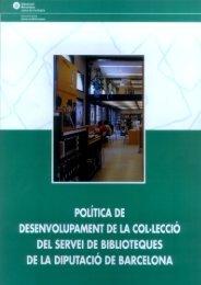 Descarregar lliure - Diputació de Barcelona