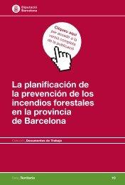 La planificación de la prevención de los incendios forestales en la ...