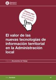 Valor de las nuevas tecnologías de información territorial en la ...