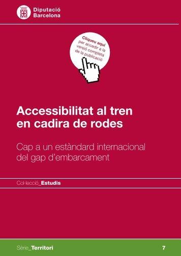 Accessibilitat al tren en cadira de rodes