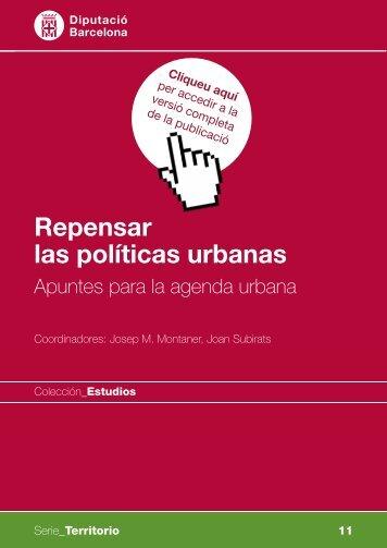 Repensar las políticas urbanas