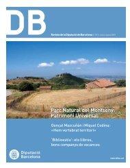 Parc Natural del Montseny Patrimoni Universal