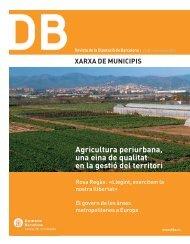 Agricultura periurbana una eina de qualitat en la gestió del territori