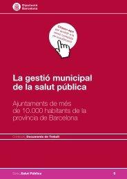 La gestió municipal de la salut pública