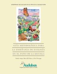 guía metodológica para la enseñanza de ecología en el patio de la escuela