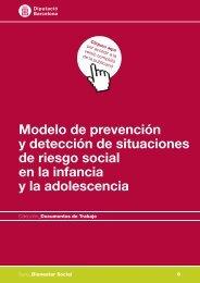 Modelo de prevención y detección de situaciones de riesgo social ...