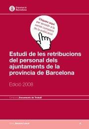 del personal dels ajuntaments de la província de Barcelona