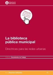 La biblioteca pública municipal