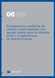 Transparencia, rendición de cuentas y participación: una agenda ...