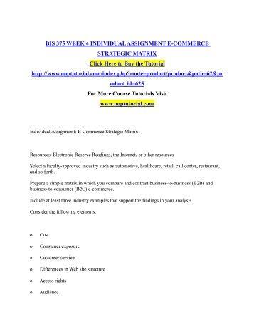 e commerce assignment pdf