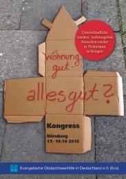 Kongress_Programm2012.pdf - Evangelische Obdachlosenhilfe