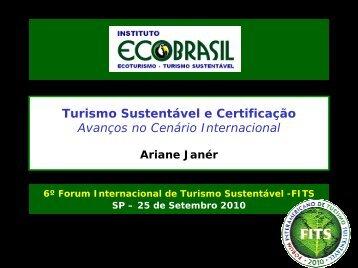 Turismo Sustentável e Certificação Avanços no Cenário Internacional