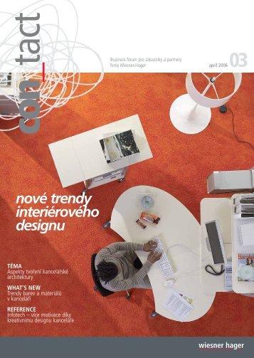 nové trendy interiérového designu