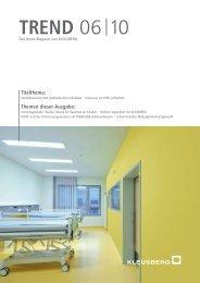 TREND 06 10 (Nr. 21) - Kleusberg GmbH & Co. KG