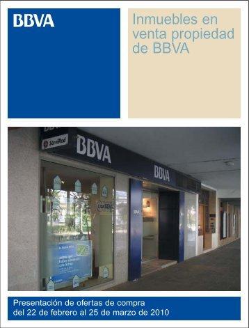 venta propiedad de BBVA