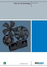 EBM-PAPST M4Q045-CA17-04 AC Fans CFM=342 VAC=115