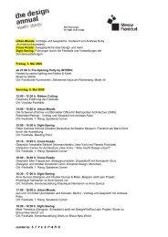 Urban Moods: Vorträge und Gespräche, moderiert von Andreas ...