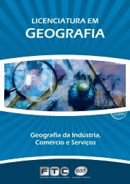Geografia da Indústria Comércio e Serviços