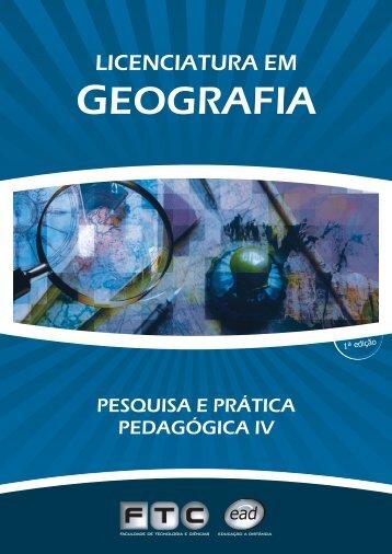 PESQUISA PRÁTICA PEDAGÓGICA IV