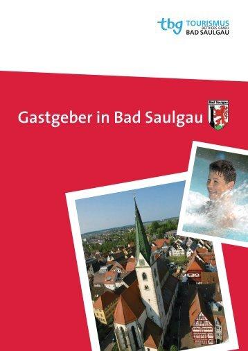 Gastgeber in Bad Saulgau - bei der Tbg-Bad Saulgau