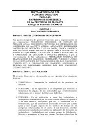 TEXTO ARTICULADO DEL CONVENIO COLECTIVO PARA ... - Apeha