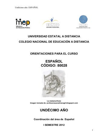 ESPAÑOL CÓDIGO 80028 UNDÉCIMO AÑO