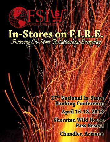 In-Stores on F.I.R.E. - Financial Supermarkets, Inc.