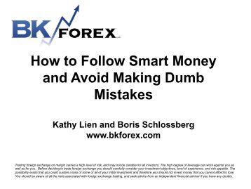 Following smart money forex