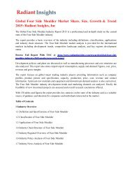 Global Four Side Moulder Market Share, Size, Growth & Trend 2015 Radiant Insights, Inc.pdf