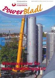 Wärmespeicher für mehr Unabhängigkeit ... -  Stadtwerke Rosenheim
