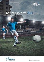 Bericht des Aufsichtsrates 2011 - Stadtwerke Reichenbach