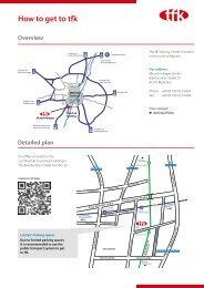 Ticket information - tfk