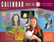 Art Calendar - the Lower Merion School District