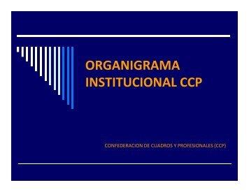 Descargar el organigrama en PDF