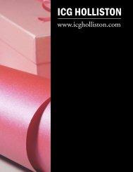 ICG HOLLISTON - The American Business Journal