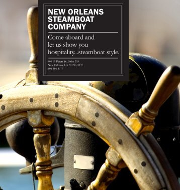 NEW ORLEANS STEAMBOAT COMPANY