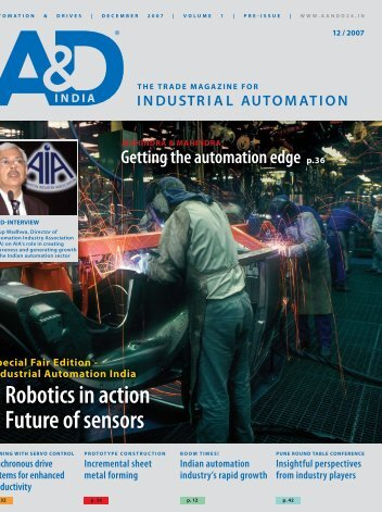Robotics in action Future of sensors - Tata Consultancy Services