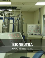 BIONEUTRA - The American Business Journal