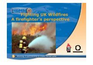 Fighting UK Wildfires A firefighter's perspective