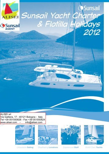 Sunsail Yacht Charter & Flotilla Holidays 2012