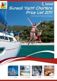 Your Sunsail Price list!