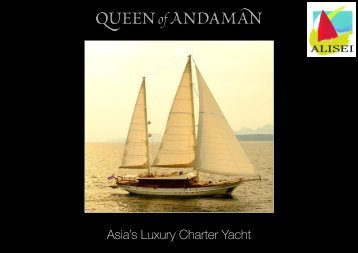 Asia's Luxury Charter Yacht