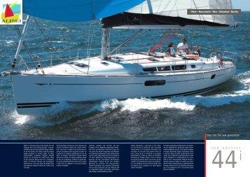 Scarica in Pdf la scheda della barca - Alisei
